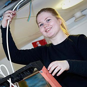 Marica Fjällström : Elektriker